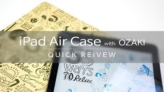 iPad Air Ozaki Relax Case 아이패드…
