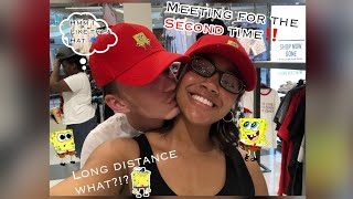 Interracial Relationship | Meeting my AMAZING boyfriend for the second time | LDR VLOG 2 | Fl🌴
