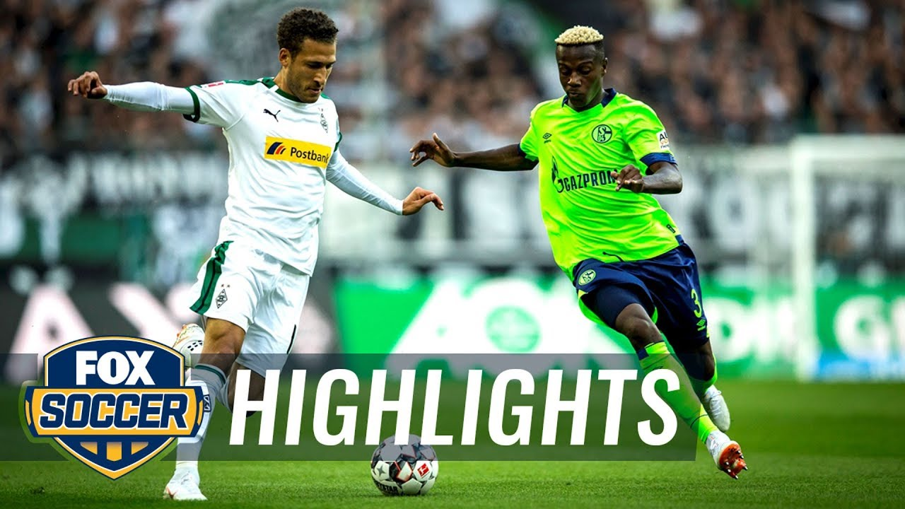 Monchengladbach vs. Schalke 04 | 2018-19 Bundesliga Highlights