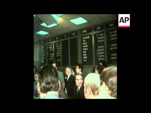 SYND 19-03-73 MONEY MARKET ACTIVITIES IN STOCK EXCHANGES IN PARIS AND FRANKFURT