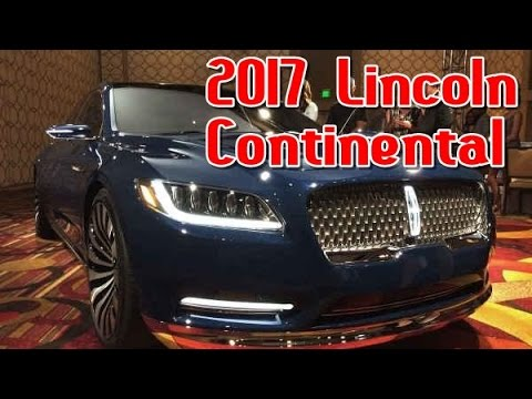 2017 lincoln continental redesign interior and exterior - 2017 lincoln continental interior ...