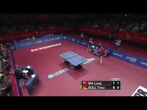 BOLL Timo vs MA Long - WTTC 2014 Tokyo [HD][Full Match]