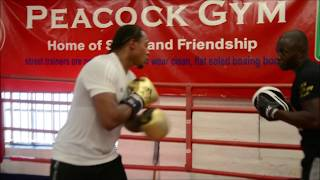 """ANTHONY YARDE """"YOU CANT TOUCH THIS"""" TO TRAINER TUNDE AJAYI"""