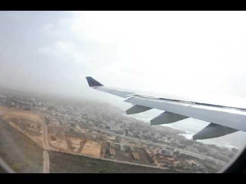Take off from Dakar Senegal A 330