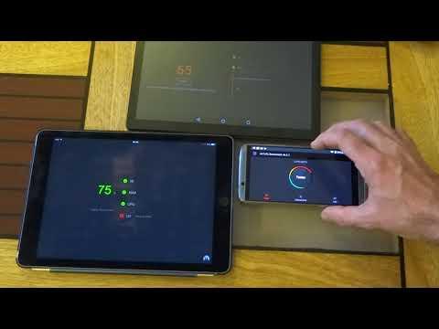 Comparaison des performances et d'affichage 3D entre IPAD air2, Tablette ALLDOCUBE Power M3 et smart