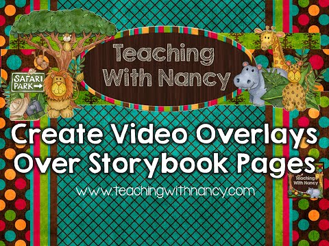 Create Video Overlays Over Storybook Pages Tutorial