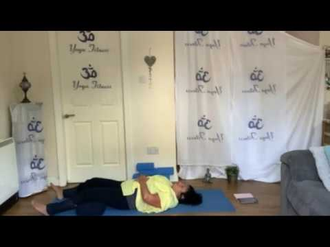 chakra restorative yoga  twists and opening to release