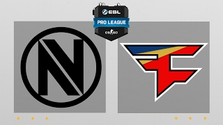 CS:GO - EnVyUs vs. FaZe [Dust2] Map 2 - ESL Pro League Season 5 - EU Matchday 3