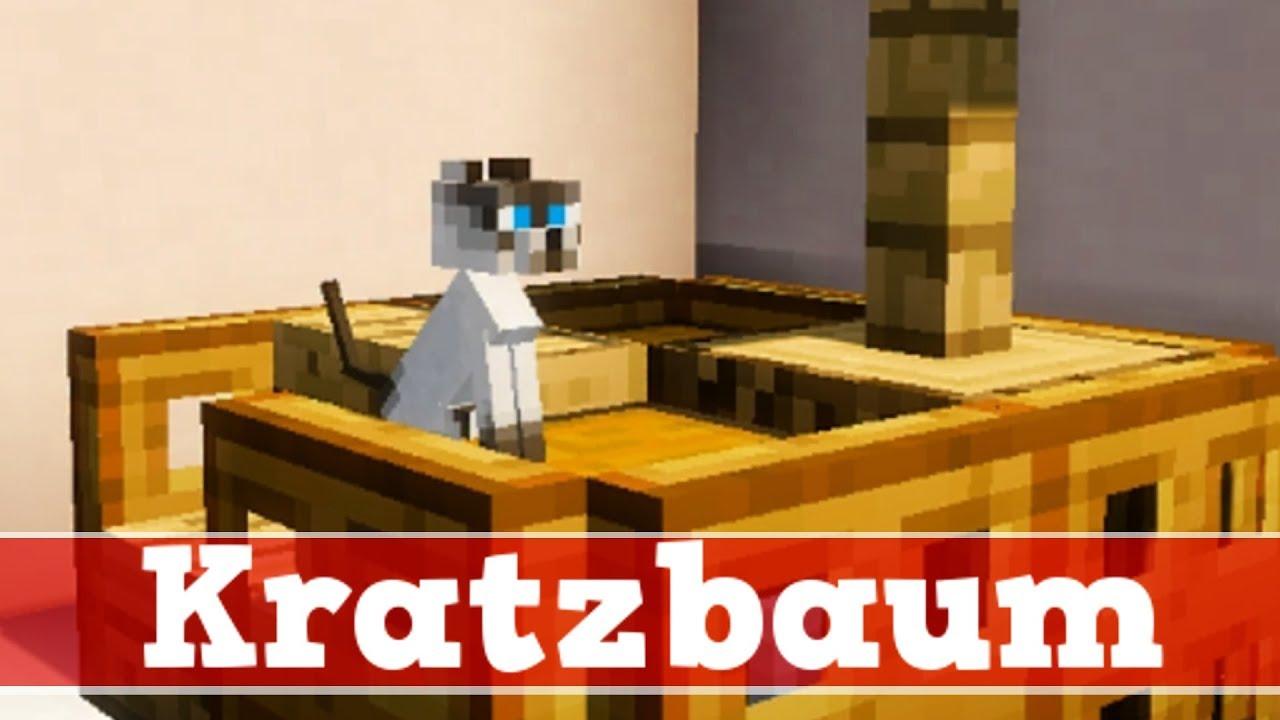 Minecraft Wie Baut Man Einen Funktionierenden Kratzbaum Minecraft