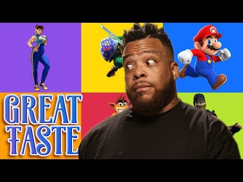 The Best Video Game Character | Great Taste
