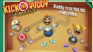 Repeat youtube video Kick the Buddy Second Kick - iPhone & iPad Gameplay Video