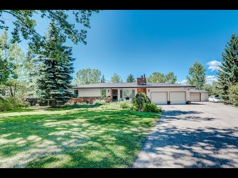 Alberta Aerial Video Production for Real Estate - 75 Prairie Schooner Estate