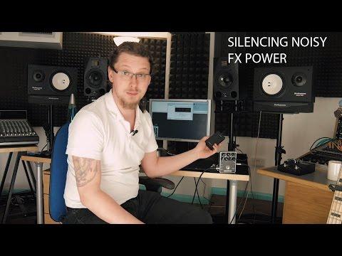 Eliminating Power Supply Noise - Recording Hack