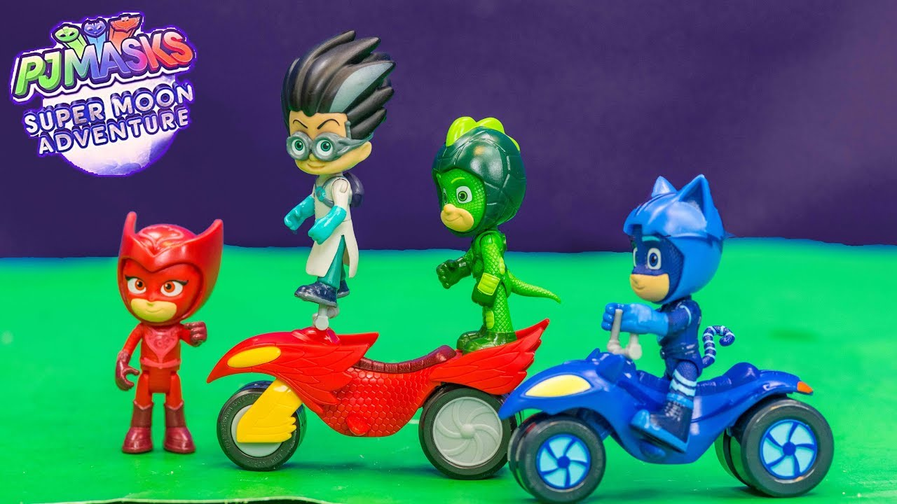 Pj Masks Super Moon Adventure Moon Adventure Rovers With Romeo Youtube