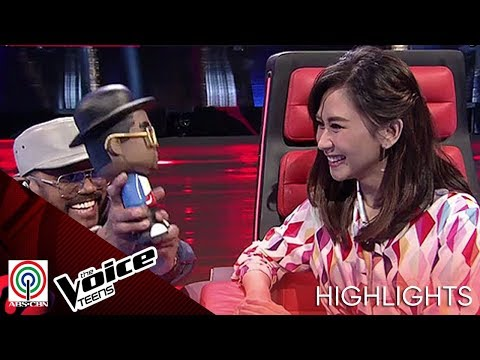 Coach APL apologizes to Coach Sarah after blind audition | The Voice Teens Philippines 2020