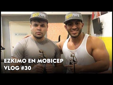 MOBICEP TRAINT EZKIMO VOOR HET GEVECHT MET JOEY BRAVO -#VLOG 30