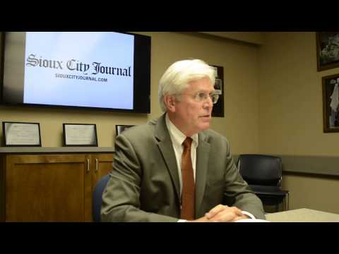 Video: Jack Hatch talks to the Sioux City Journal editorial