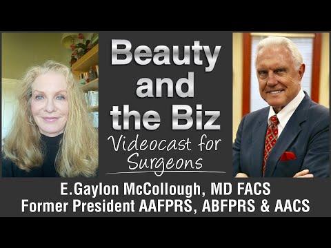 Interview with Dr  E  Gaylon McCollough, MD FACS Videocast