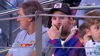 ملخص مباراة برشلونة 2/0 انتر ميلان مباراة مجنونة