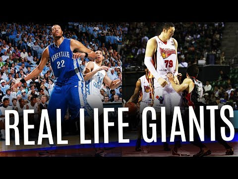 World's Tallest Basketball Players Ever (Not in the NBA)