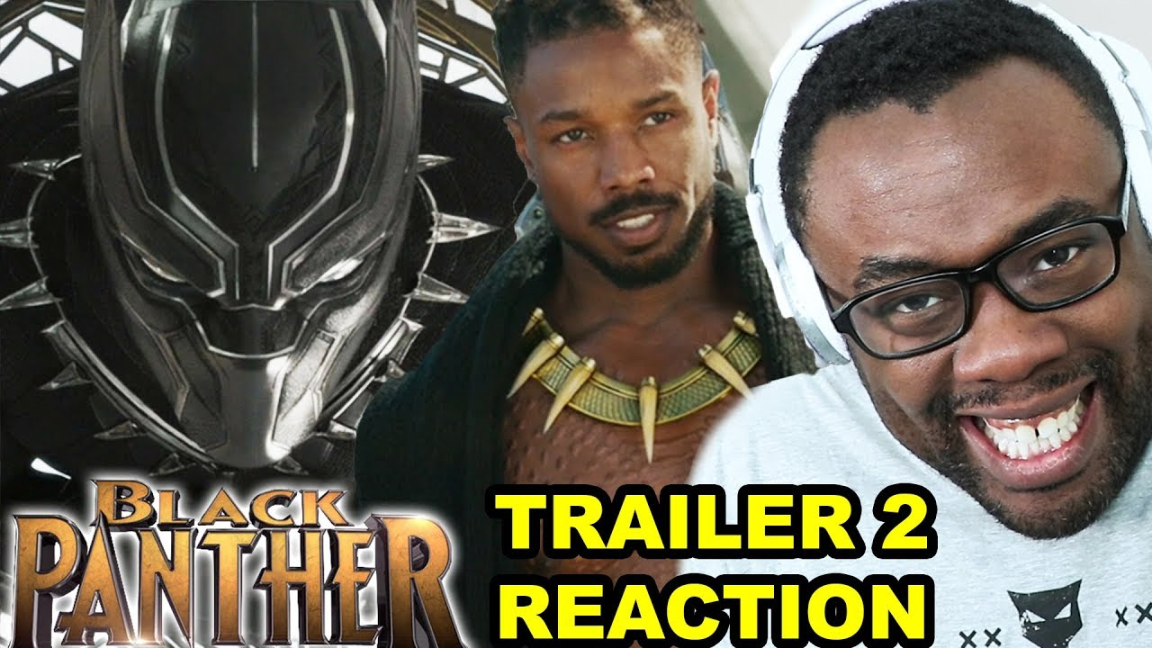 BLACK PANTHER Trailer 2 Reaction – Wakanda Forever!! | Andre Black Nerd