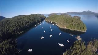 Desolation Sound BC Canada July 2017
