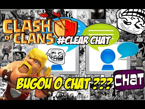Trollagem no chat clash of clans !!!