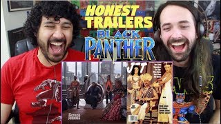 Honest Trailers - BLACK PANTHER REACTION!!!