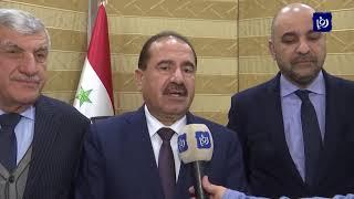 مساع لإعادة العلاقات بين عمان ودمشق في مختلف المجالات - (15-2-2019)