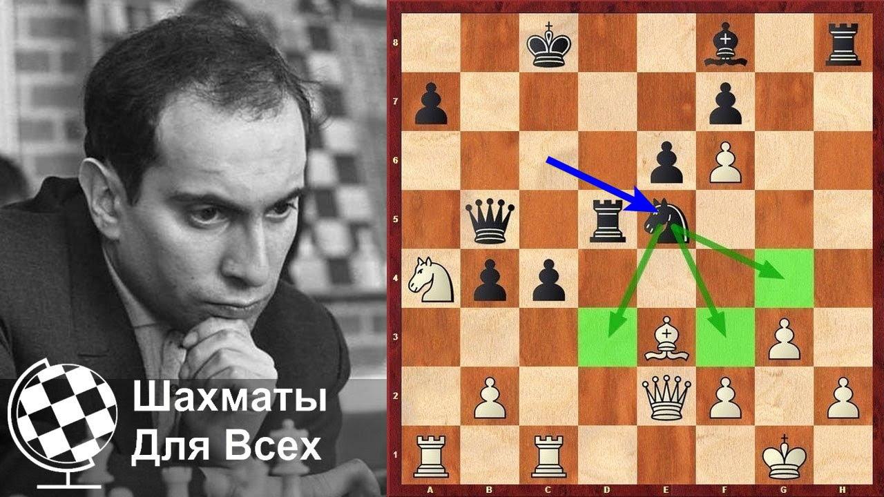 Шахматы. МОЩНАЯ ПАРТИЯ Михаила Таля против Гарри Каспарова!