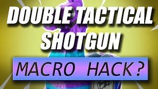 FORTNITE MACRO❗❗ HACK DOUBLE TACTICAL&HEAVY FOR RAZER⭐(DOWNLOAD LINK IN DESC)⭐