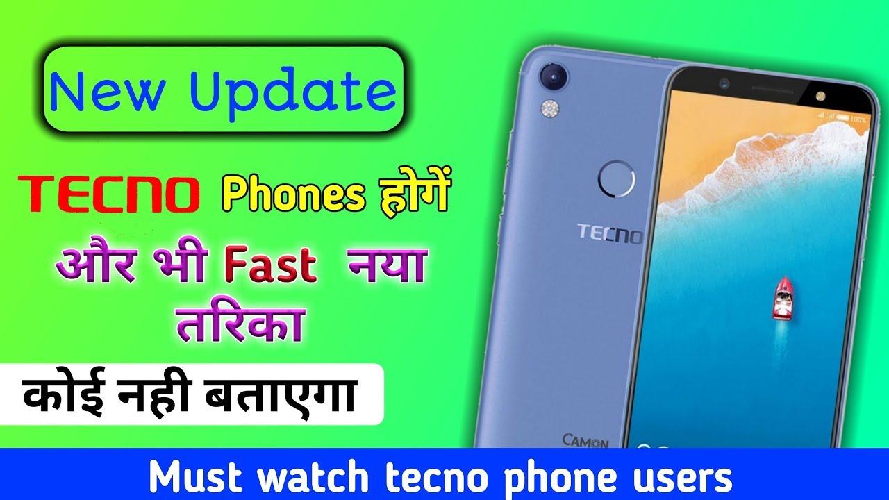 New update tecno phone ko ab super fast banaye || tecno phone ko fast kaise  karen | by bk facts