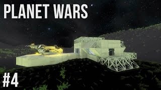 Space Engineers | Planet Wars Ep 4 | Base Developments!