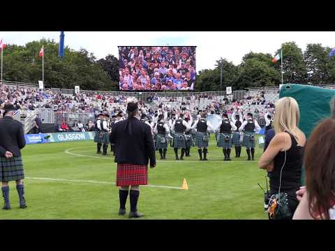 World Pipe band Championships 2017 - Inveraray & District Pipe Band Medley - [4K/UHD]