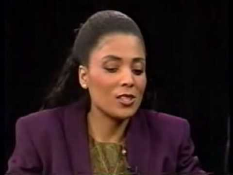 Flo Jo with Charlie Rose part 1