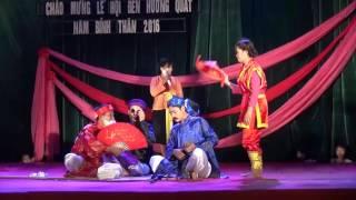 Văn nghệ Chào mừng Lễ Hội Đền làng Hương Quất - Phần II năm 2016