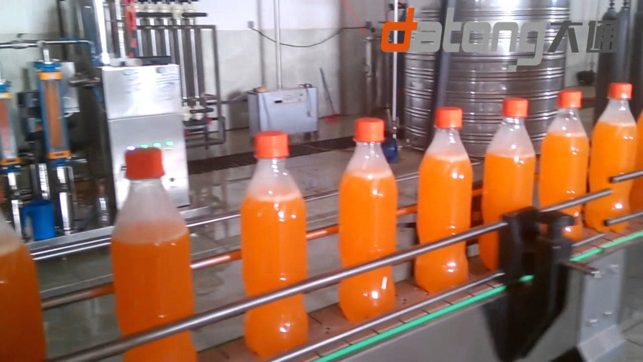 6000bph Fenta Soft Drinks Filling Production Line From