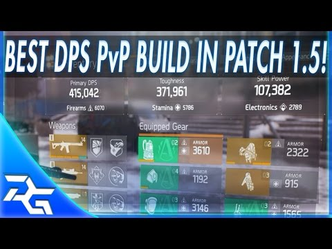 The Division Patch   Lmg Pvp Build