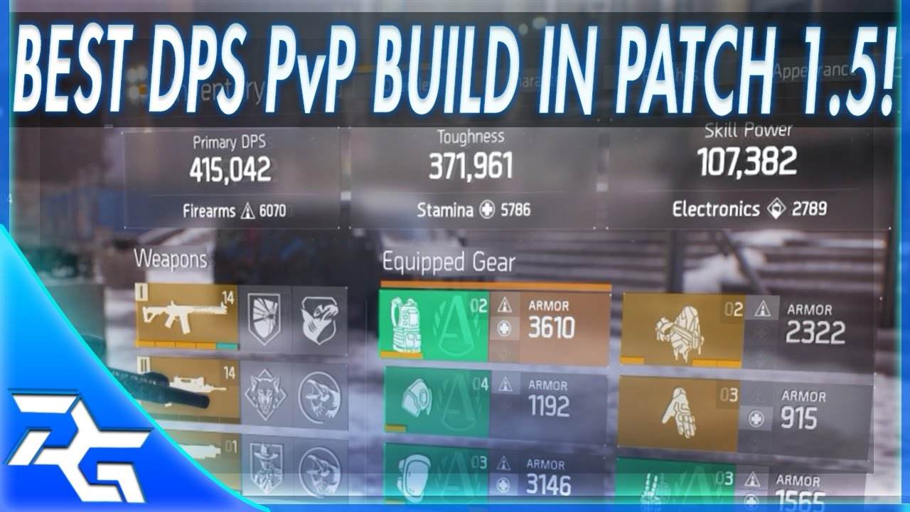 The Division   Pvp Build
