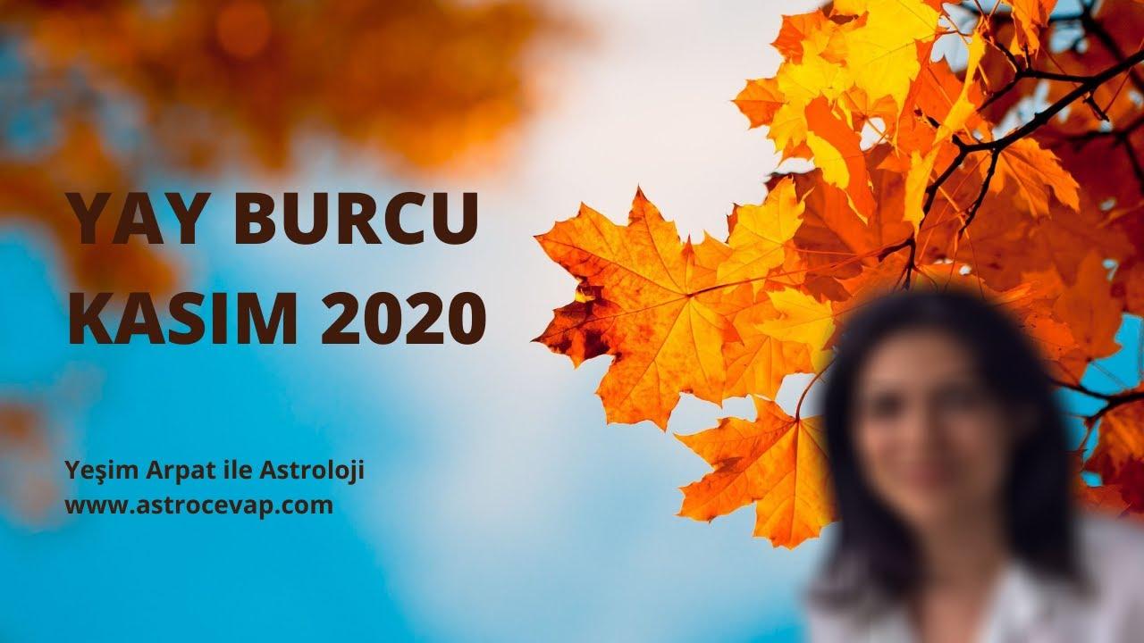 YAY Burcu Kasım 2020 Astroloji