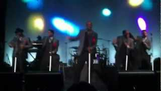 New Edition - Popcorn Love, Candy Girl (LIVE) Kent, WA 06/22/2012