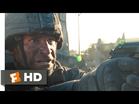 Battle: Los Angeles - Defeating The Aliens Scene (10/10)   Movieclips