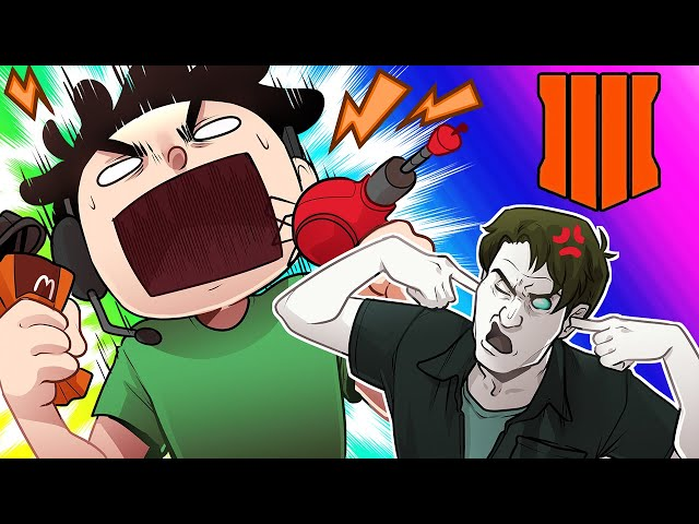 Black Ops 4 Zombies Funny Moments - Nogla Breaks Another Controller!