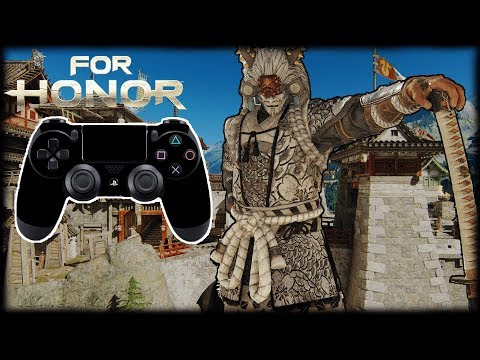 PS4 CONTROLLER ON PC | I FOLDED | FOR HONOR DUELS