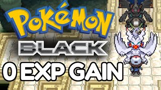 Can You Beat Pokemon Black WITHOUT EXP?