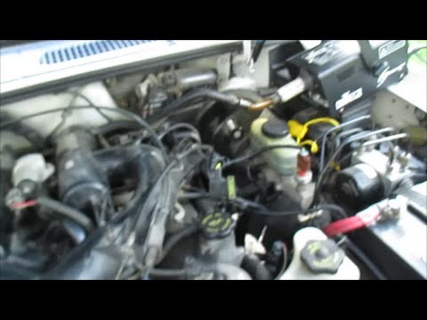 Ford Explorer 4 0L SOHC Rough Idle Part 3 Smoke Machine