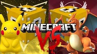 NOVÁ SÉRIE!!! POKEMONI V LUCKY BLOCKU!!! | Minecraft Pokemon GO Lucky Blocky Challenge #1 [GamingCZ]