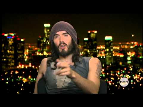 Russell Brand interview on The Project (2012)
