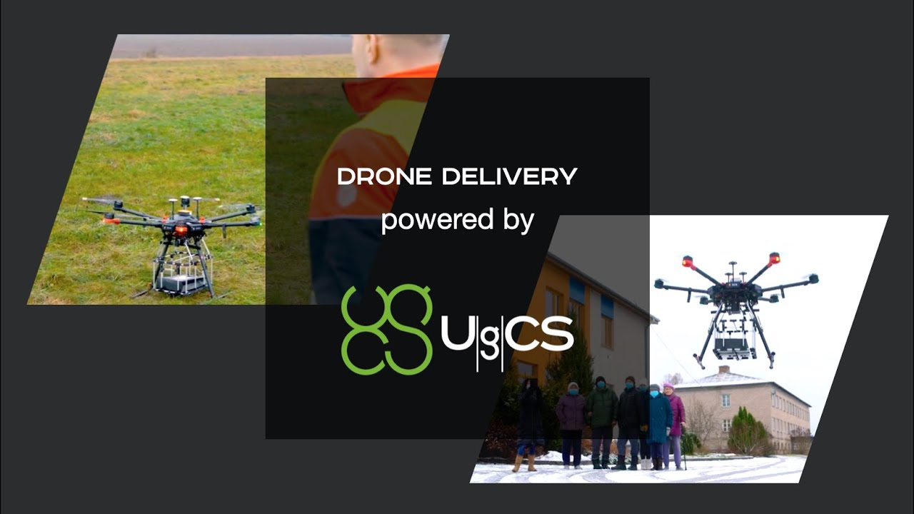 First-ever Remote Drone Delivery completed in Latvia