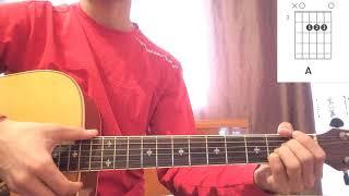 Самая вышка на гитаре разбор